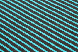 Jersey dünne schwarze und blaue Streifen 100190/59