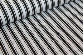 Baumwolle schwarze dicke und dünne Streifen