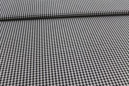 Baumwolle schwarz/weißes Karo 502510/90