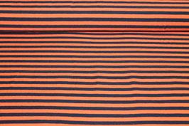 Jersey orangene und schwarze Streifen 100128/90