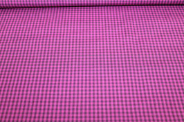 Baumwolle lila/pink Karo 502546/44