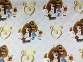 Jersey Pets weiß / gold 802110/98