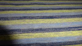 Sweat graublau / gelbe Streifen