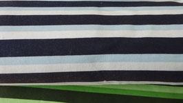 Sweat hellblau,dunkelblau und weiße Streifen