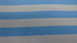 Jersey blau / weiß breit gestreift 100110/58