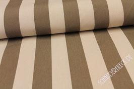 Polsterstoff beige/braun gestreift 101213/72