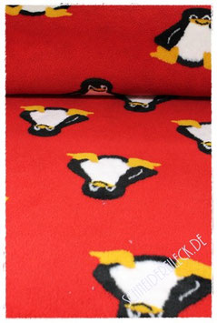 Fleece Pinguin rot 601732B