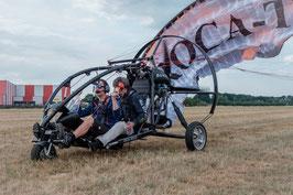 "Xcitor / Doppelsitzer Trike ""Fußgänger"""