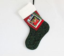 Nikolausstiefel mit Schlitten