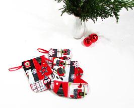 Mini Nikolausstiefel Eulen 2er Set