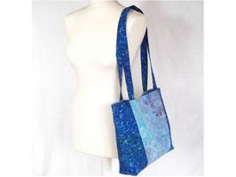 Shopper Tasche in blau