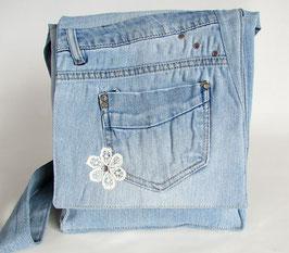 Jeans Schultertasche