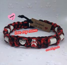 em4dogs EM-Keramik-Hundehalsband - Love my Mom
