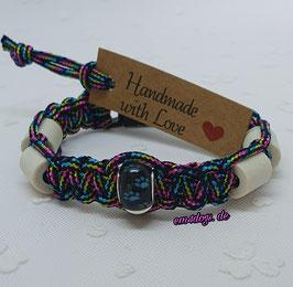 em4dogs EM-Keramik-Armband - Regenbogen