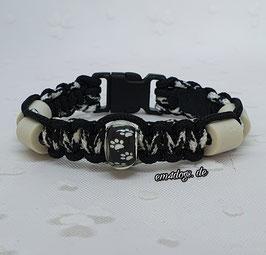 em4dogs EM-Keramik-Armband - Zebra