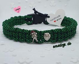 em4dogs Handmade Hundehalsband - Waldi