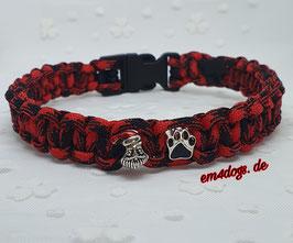 em4dogs Handmade Hundehalsband - Weihnachtspötchen