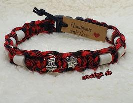 em4dogs EM-Keramik-Halsband - Weihnachtsmann