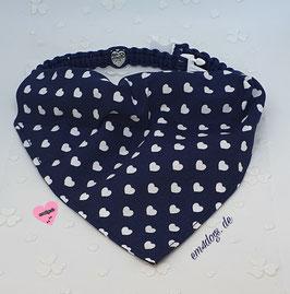 em4dogs Halstuch für Hunde - Schatzi inkl. Handmade Halsband