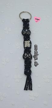 em4dogs - Schlüsselanhänger dogs schwarz-weiß