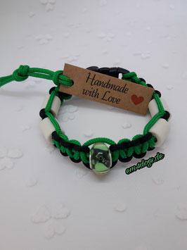 em4dogs EM-Keramik-Armband - Herz grün