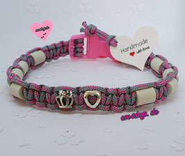 em4dogs EM-Keramik-Halsband für Hunde water & sun water princess
