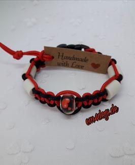 em4dogs EM-Keramik-Armband - Herz