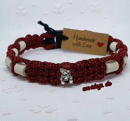 em4dogs EM-Keramik-Halsband - Weihnachtsbärchen