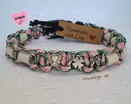 em4dogs EM-Keramik-Hundehalsband - Glücksschweinchen