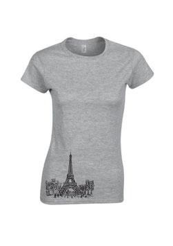 T-Shirt Paris Frauen
