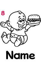 Babyautokleber 8