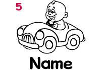 Babyautokleber 5
