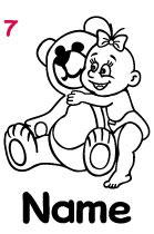 Babyautokleber 7