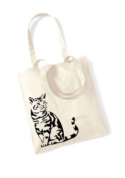 Stofftasche Katze