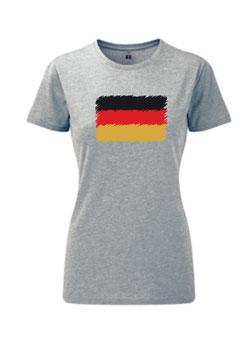 Deutschland Flagge Frauen