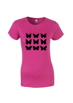 T-Shirt Schmetterling Frauen