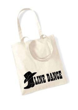 Stofftasche Line Dance