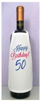 Mini Schürze Happy Birthday Verlauf
