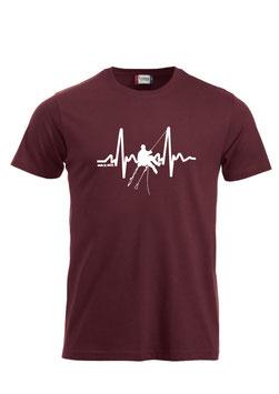 Herzfrequenz Kletterer