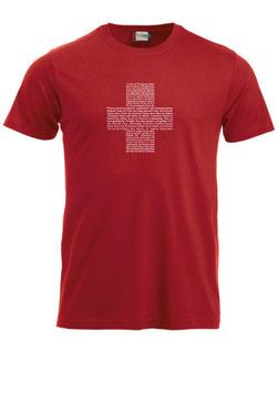 Schweizer Hymne Kreuz