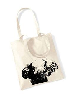 Stofftasche Elefant