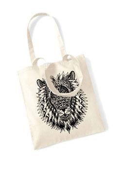 Stofftasche Mandala Löwe