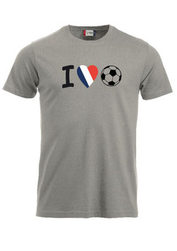 I love Fussball Frankreich