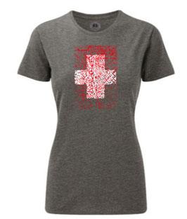 Schweizer Kreuz alt Frauen