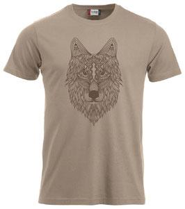 Wolf abstrakt