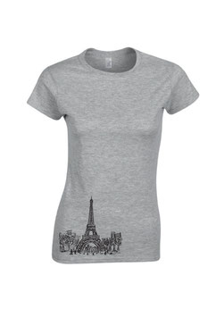T-Shirt Paris Frauen