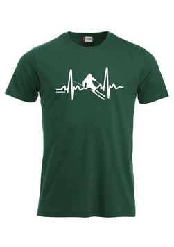 Herzfrequenz Skifahrer