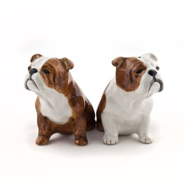 Salz- & Pfefferstreuer englische Bulldogge