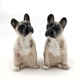 Salz- & Pfefferstreuer französische Bulldogge