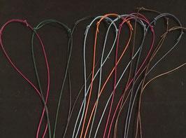 Farbe Lederbänder